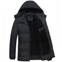 jaket winter pria jaket musim dingin hoodie jaket bulu jaket anti air