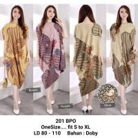 Kaftan Batik Satin High Quality 201