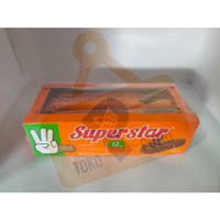 Superstar Wafer Triple Chocolate Box 18gr