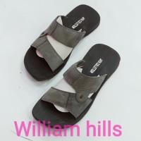 sandal pria kulit sapi asli wh018