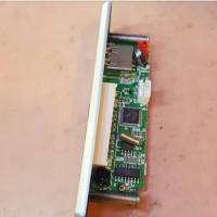 Kit reader USB Mp3 Hitam Memori MMC