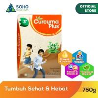 Curcuma Plus Susu Bubuk Ekstrak Temulawak - Coklat 750g