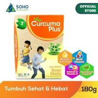 Curcuma Plus Susu Bubuk Ekstrak Temulawak - Madu 180g