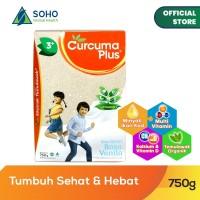 Curcuma Plus Susu Bubuk Ekstrak Temulawak - Vanilla 750g
