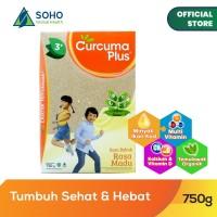 Curcuma Plus Susu Bubuk Ekstrak Temulawak - Madu 750g