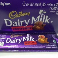 Cadbury Fruit n Nut 65gr