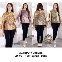 Blouse Batik Premium / Atasan Wanita Bahan HQ