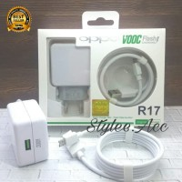 Charger Oppo ORIGINAL 100% R17 Support VOOC Flash Charging