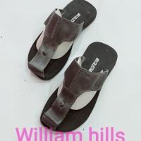 sandal pria kulit sapi asli wh016