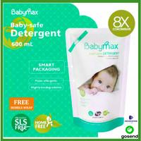 Babymax Detergent Refill Sabun Deterjen Diterjen Aman Bayi 600 600ml