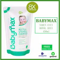 BabyMax Bottle Cleanser Refill Sabun Cuci Botol Bayi 450 ml 450ml
