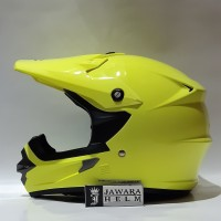 HELM CARGLOSS CARGLOS CROOS CROSS SOLID YELLOW FLUO