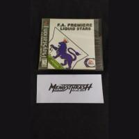 kaset game f.a premiere liquid star playstation 1
