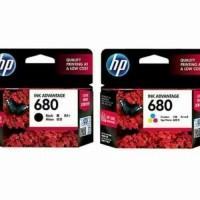 Tinta HP 680 Black and Colour Original Ink Advantage Cartridge - 1set