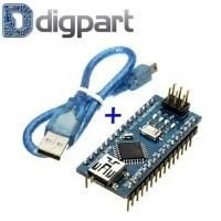 Arduino Nano V3 Atmega328 5V 16MHz CH340 Plus Mini USB Kabel Data