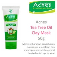 Acnes Tea Tree Oil Clay Mask 50g