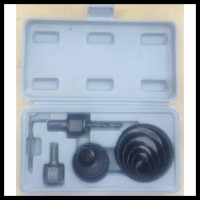 Promo Holesaw Hole Saw Kit Set 11Pcs Mata Bor Pelubang Kayu 11 Pcs