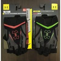 Sarung Tangan Gym Fitnes Gloves Under Armour Half Fingers TRAINING