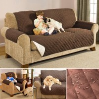 []Sarung Pelindung Sofa Model Anti-Air untuk 1 2 3 Seater