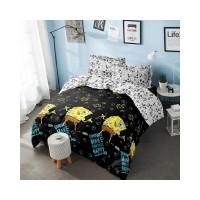 sprei sprei Queen x Bed SPONGEBOB - 160 - Cover 200