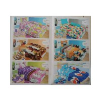 cover bed Bed cm 3 Rose Kualitas Disperse No. Lady Cover 3in1 Single 3