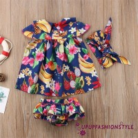 ✽UP✽2018 Lovely Newborn Kids Baby Girl Outfit Clothes Tops