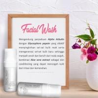 MS Glow Facial Wash Mengangkat Kotoran di wajah AMAN & ORIGINAL