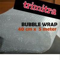 Plastik Bubble Wrap Gelembung Potongan Lembaran 40 cm x 5 meter