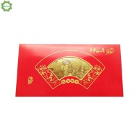 1 Set Amplop Warna Merah Gambar Kartun Tikus untuk Hadiah Imlek
