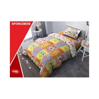 cover bed UK. SPONGEBOB 180x200 160x200 DLUXE BEDCOVER