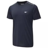 Reebok Running Tee Sport Shirt Man Baju Olahraga Pria Cowok Original