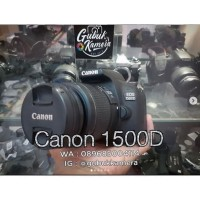 Canon 1500D kit 18-55 ISII LIKE NEW (MURAH)