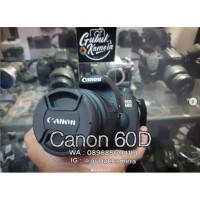 Canon 60D kit 18-55 IS II (MURAH)