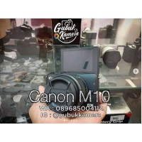 Canon m10 kit LIKE NEW (MURAH)