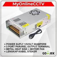 Adaptor CCTV Power Suply 12 Volt 30 Ampere Adaftor 12V 30A