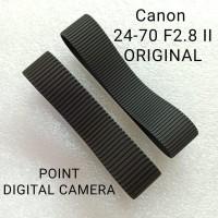 Karet Rubber set Zoom dan Focus Canon 24-70 F2.8 Gen II