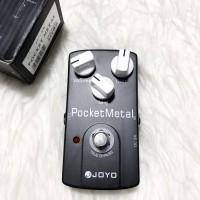 BILLY MUSIK - Efek Gitar Joyo Pocket Metal Distortion JF-35 JF35 Mulus