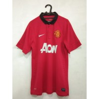 Jersey Retro Manchester United 2013-2014 Home Kit - Size L