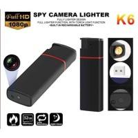 Camera Spy Korek Spy Cam Lighter Security Camcorder Full HD 1080P K6
