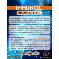 IMMUNOL 2ML vitamin bulu obat flu virus kucing anjing no nutriplus gel
