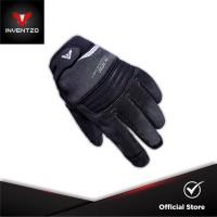 INVENTZO SAVO Black Black - Sarung Tangan Motor Sensitive Touch
