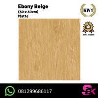 Keramik Lantai 30x30 Ebony
