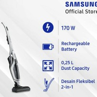SAMSUNG Powerstick Vacuum Cleaner - VS60K6050KW