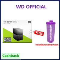 WD My Book Duo 16Tb Desktop RAID External Hard Drive Eksternal HDD