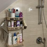 Rak Toilet 3 Susun Rak WC Organizer WC Tissue Sabun Kloset Kamar Mandi