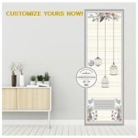 BEST SELLER Stiker pintu kamar Motif Terbaru- FLOWER CAGE - 62 X 190