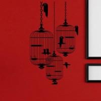 BEST SELLER Wall Sticker Sangkar Burung Dinding Kaca Kantor Rumah