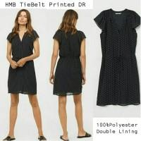 HMB TeeBelt Prined Dress