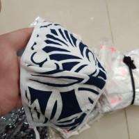 masker kain 3 ply bagus kain lembut