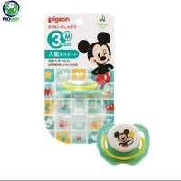 PIGEON EMPENG BAYI MICKEY MINNIE SIZE SML / PIGEON PACIFIER / DISNEY - M Mickey